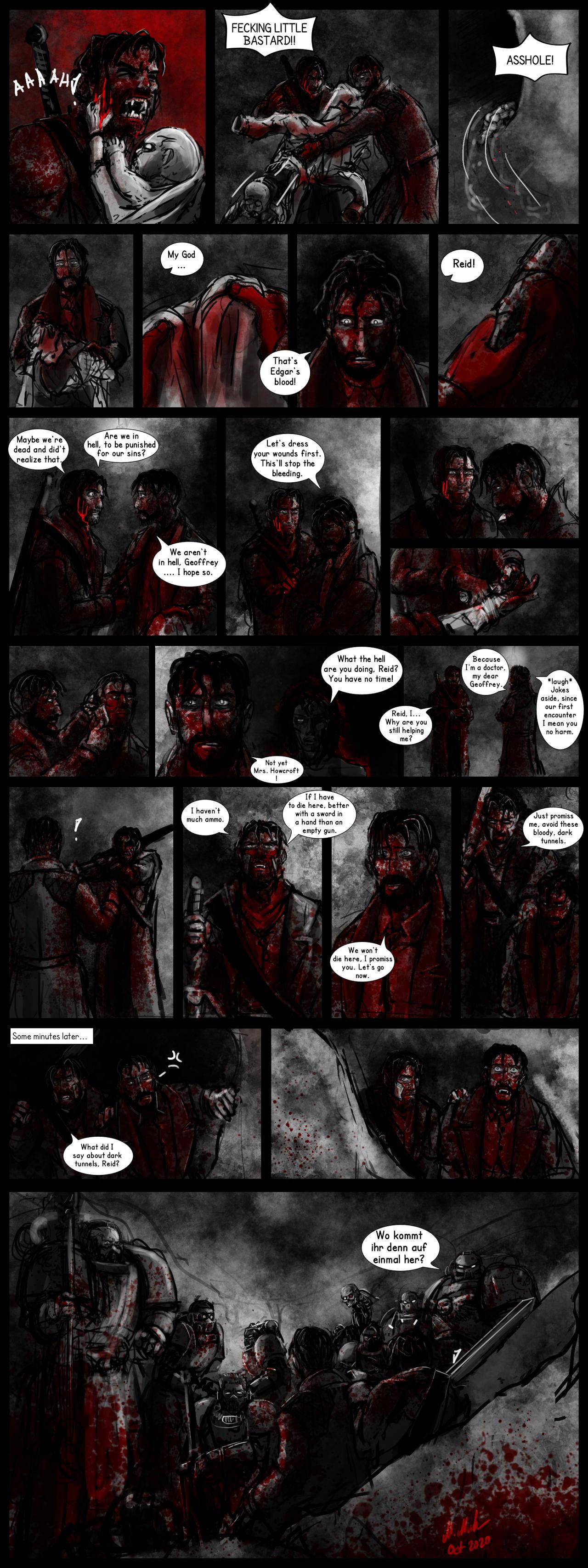 Vampyr 40k Crossover Comicstrip 15