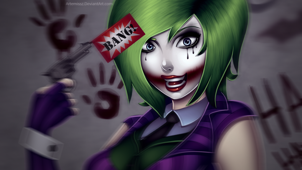 drawn joker wallpapers and - photo #13