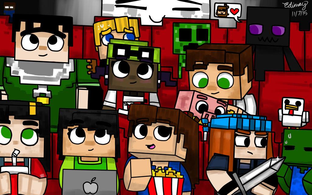 Minecraft Story Mode On Cinema By Edimay On Deviantart
