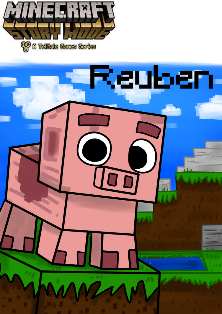 Minecraft Ruben Coloring Pages