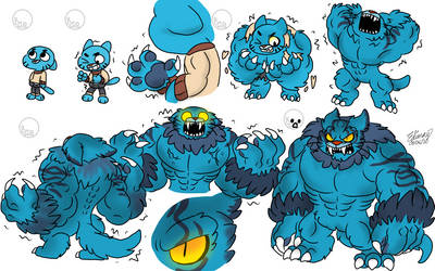 Psychotic Enigma Comics • Halloween Mini Comic - Werewolf