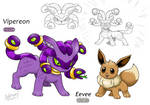 Eevee's Poison evolution(Vipereon)