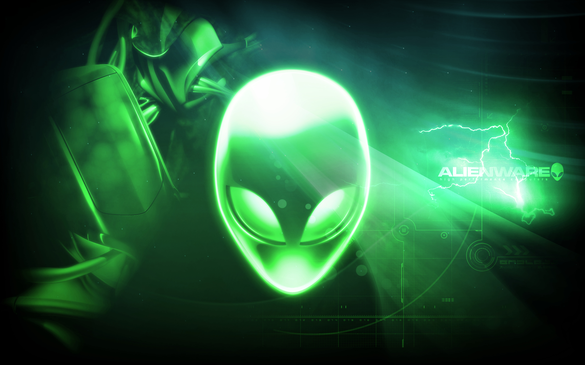 Alienware Reloaded 2 green by rg-promise