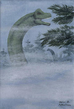 Brachiosaurus in the Mist