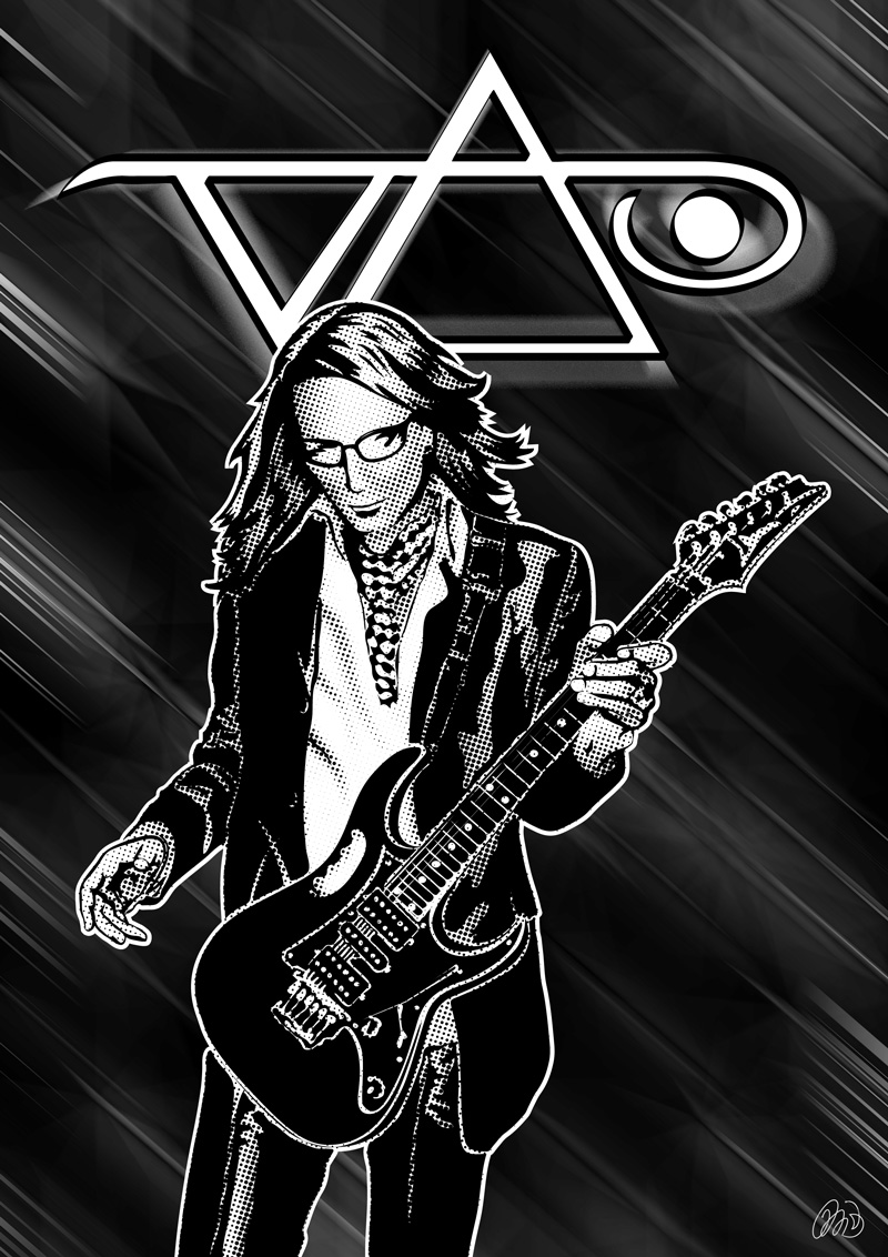 Steve Vai By Michelebruzza On Deviantart