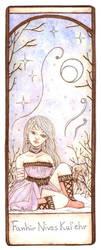 Fanhir's bookmark by KiraAmiel