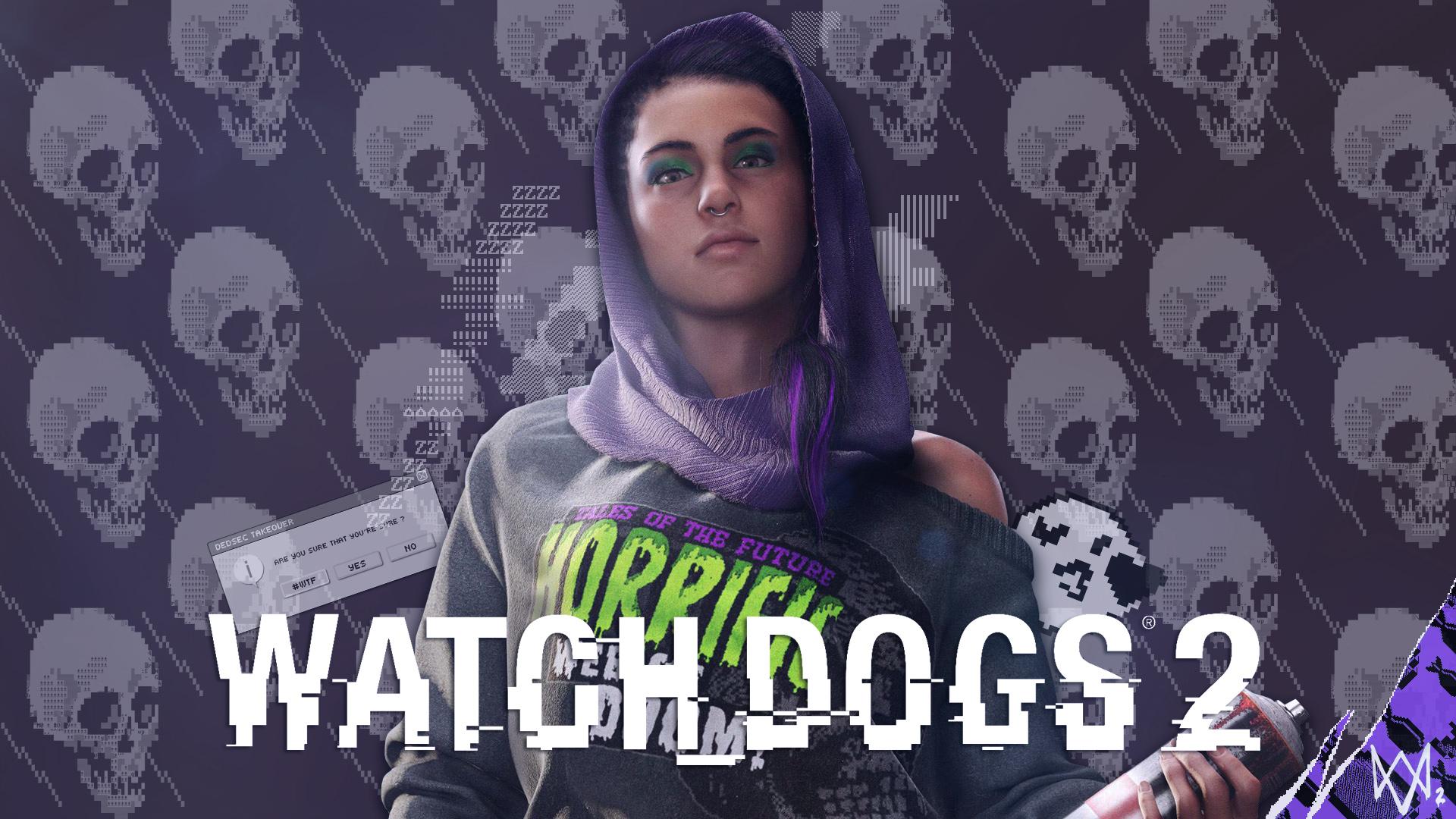 Watch Dogs 2 Sitara Dhawan Fan Wallpaper By Digital Zky On