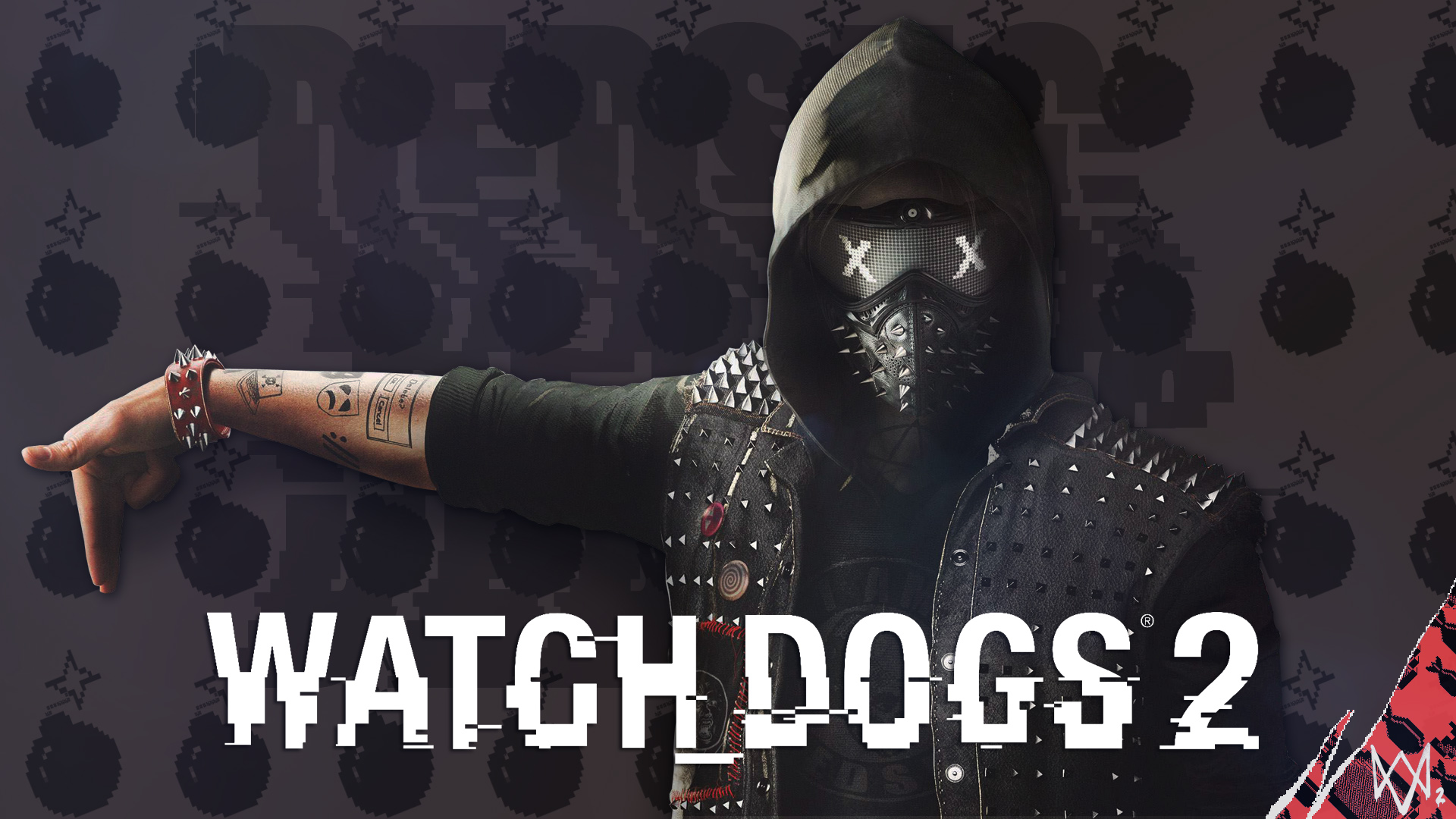 Watch Dogs 2 Wrench Fanart: Watch Dogs 2 Wrench _/fan Wallpaper By Digital-Zky On