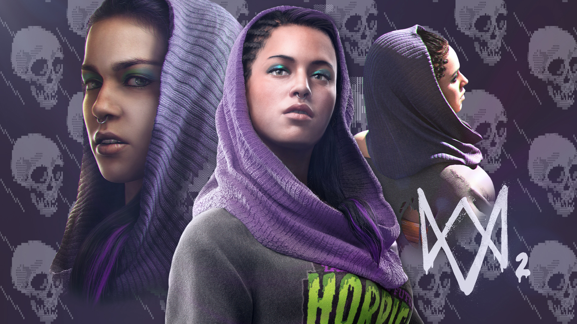 Watch Dogs 2 Sitara Dhawan Fan Wallpaper 2 By Digital Zky On