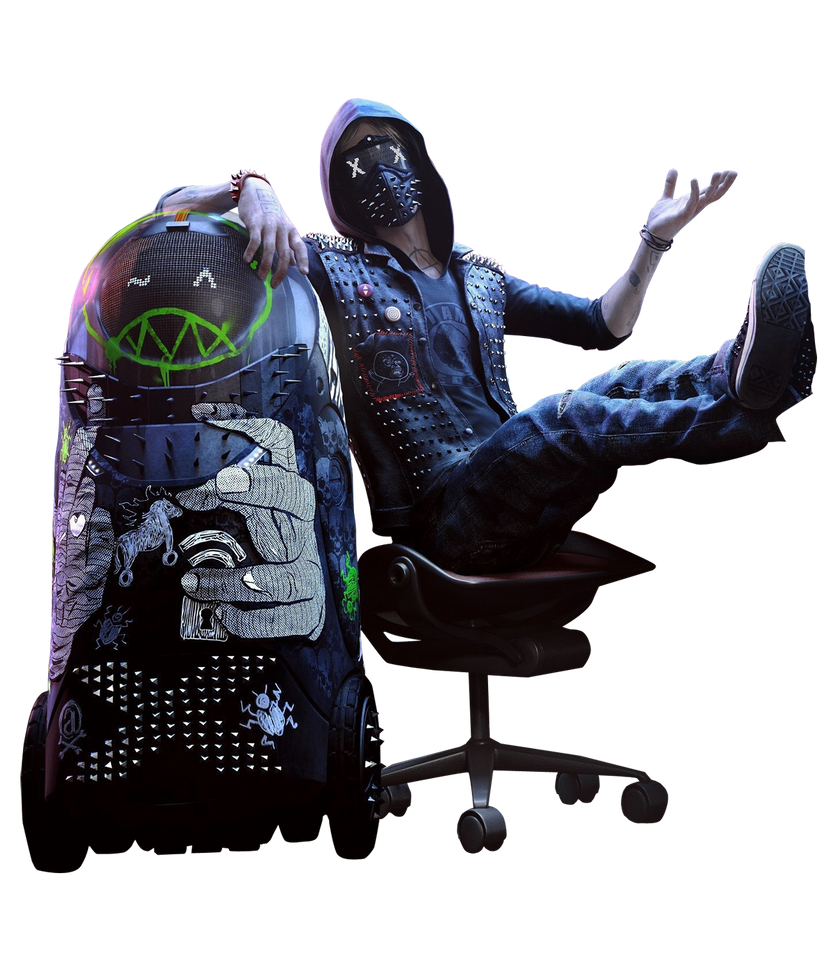 Wrench Unmasked Watch Dogs