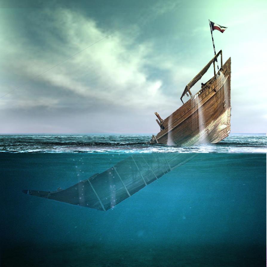 Sinking Ship by Q80designer on DeviantArt