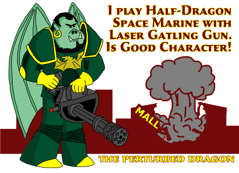 Dave: The Half-Dragon Space-Marine