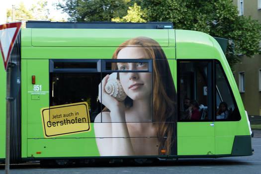 Tram, Augsburg