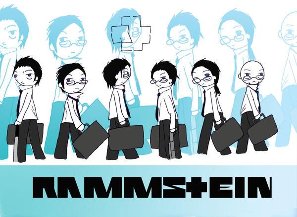 Rammstein chibi : Reise Reise