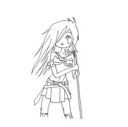 Warrior Lineart