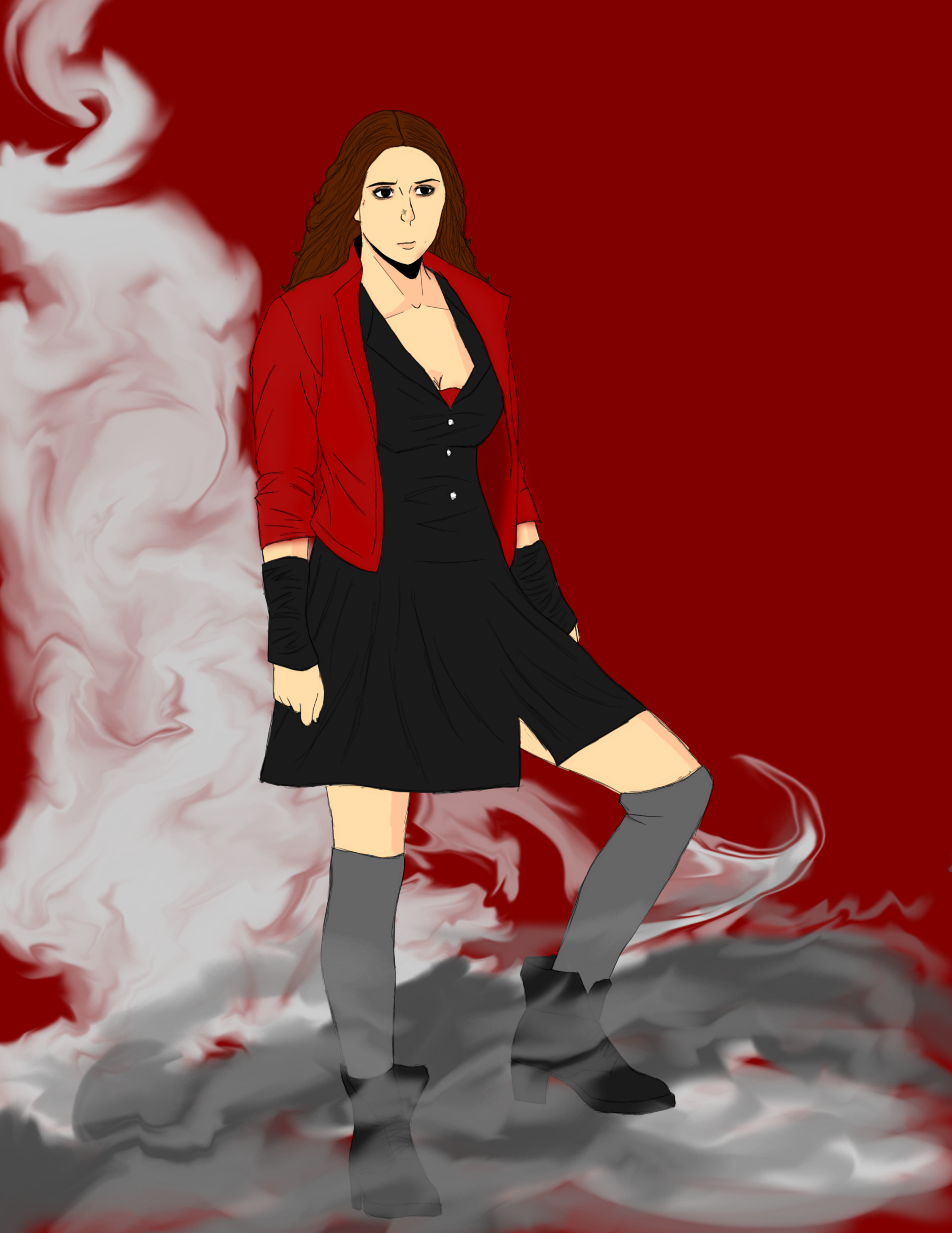Avengers 2 Scarlet Witch By Thereaper111 On Deviantart