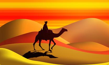 desert by kiwikruemel