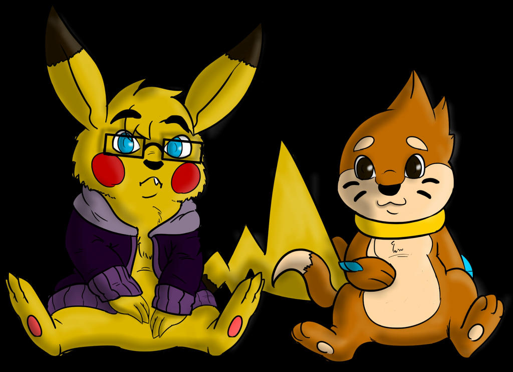 Contest thing- B3ing: Bros by Buizelfreak