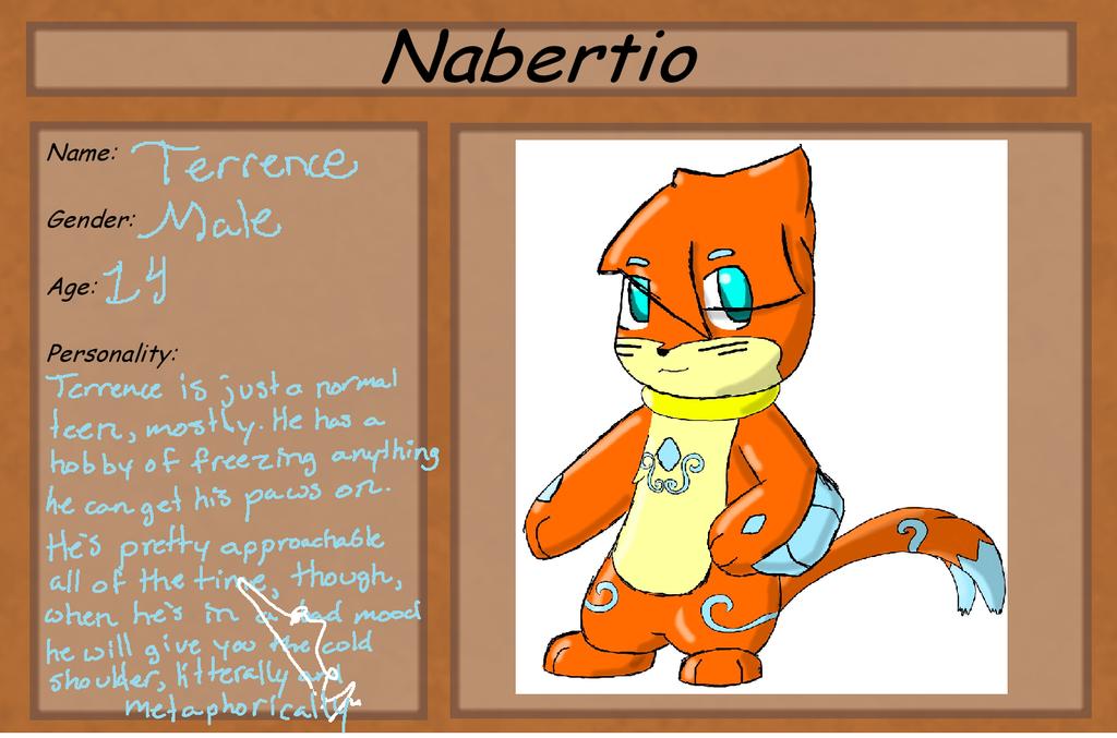 Nabertio App: Terrence by Buizelfreak