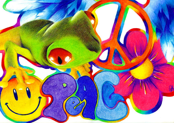 Peace Frog by theSNES ...  sc 1 st  theSNES - DeviantArt & Peace Frog by theSNES on DeviantArt