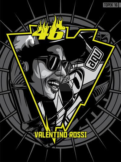 Valentino Rossi by mahiratama19 on DeviantArt