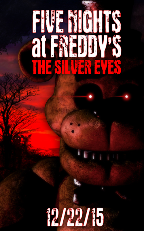 FNaF TheNovel -silver-eyes by Leda456