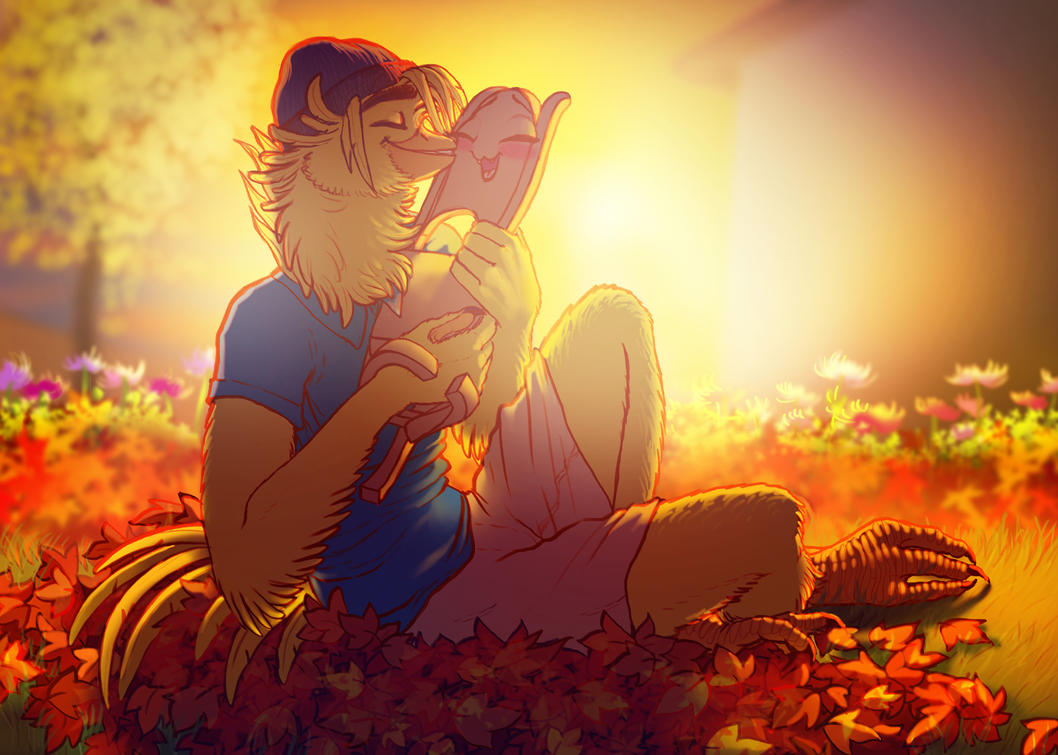 The first day of fall by Leda456
