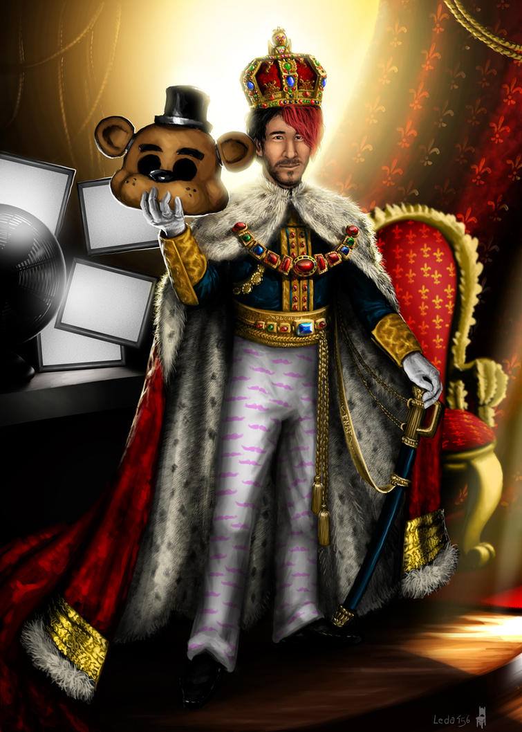 The King of Five Nights at Freddy's - Markiplier by Leda456