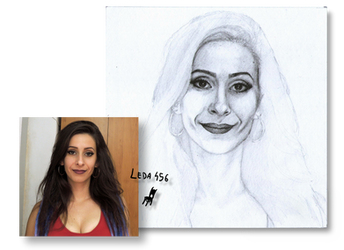 WIP Realistic Portrait-Self portrait project by Leda456