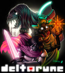 DELTARUNE - speedpaint video link in description