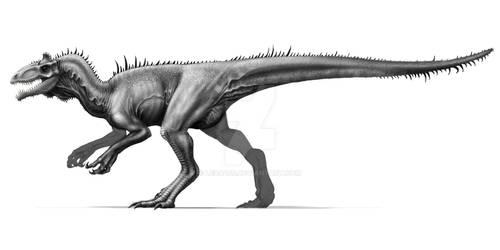 Cryolophosaurus - SPEEDPAINT VIDEO