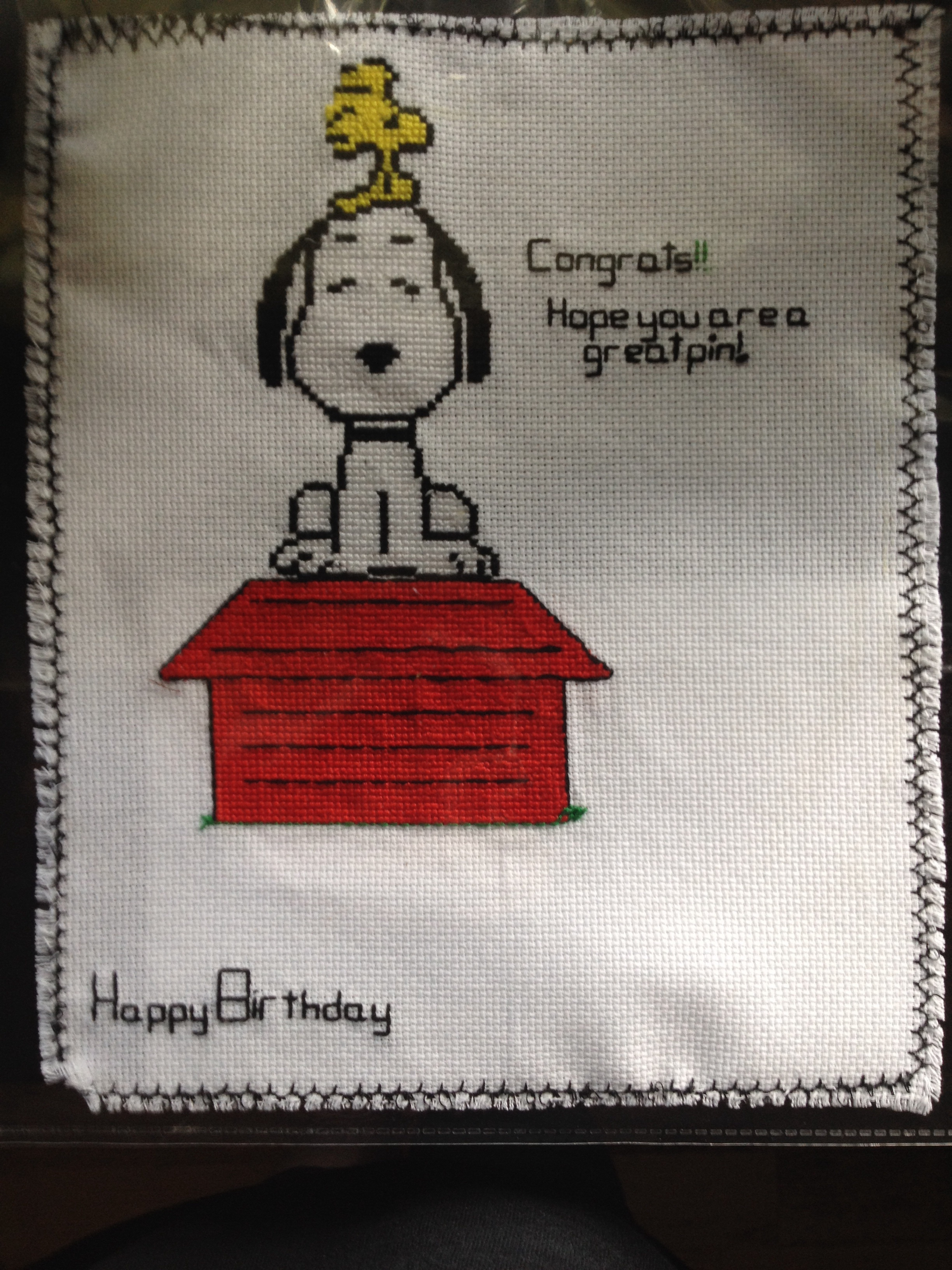 Snoopy Cross Stitch by Izzy625