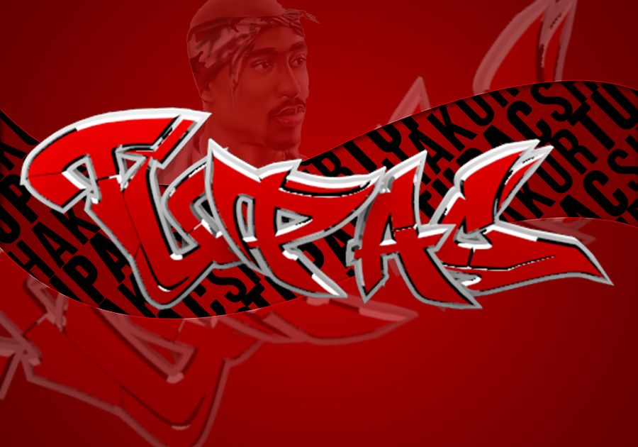 R.I.P Tupac by xTrentonx