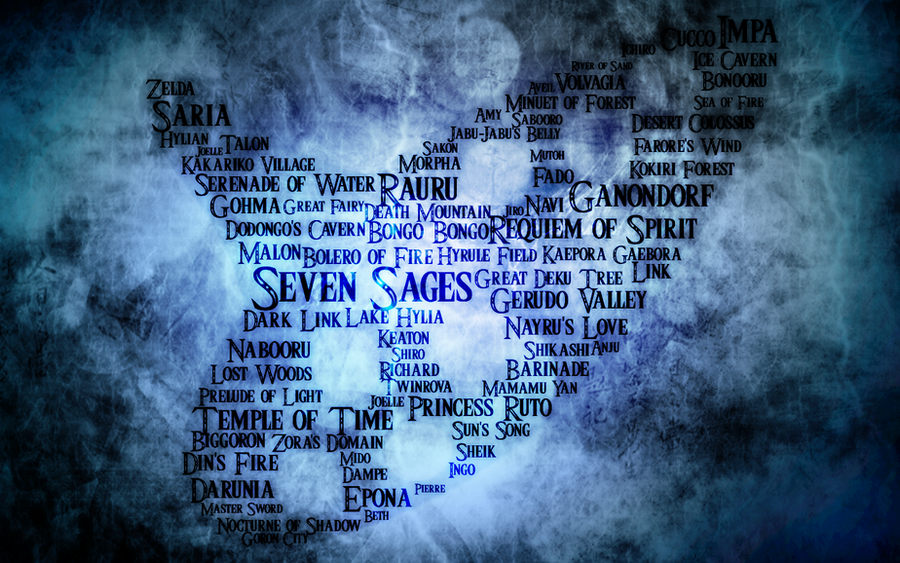 Ocarina Of Time Wallpaper By MajorasKeyblade