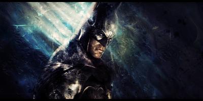 Batman Signature by MajorasKeyblade