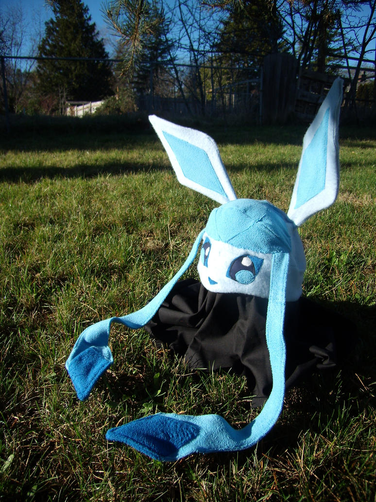 glaceon fleece hat by - photo #23