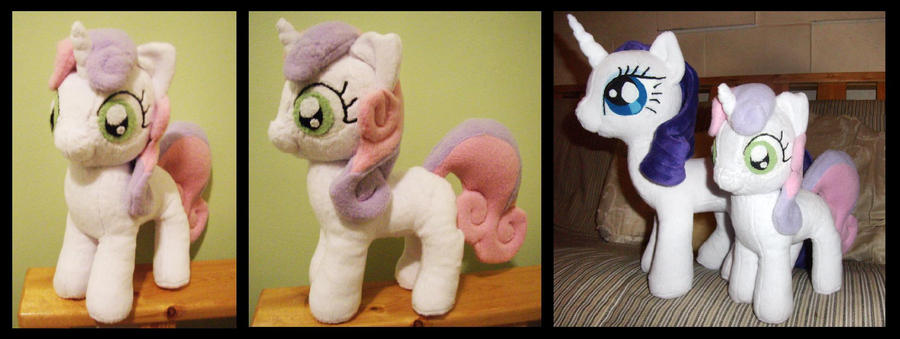 'Cutie Bell' Plush by fireflytwinkletoes