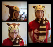 Furret Hat - Commission for Fuma Puma by fireflytwinkletoes
