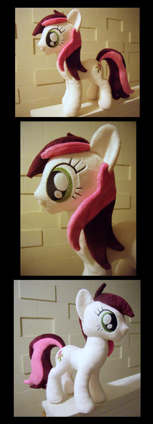 Roseluck Plush - Commission by fireflytwinkletoes