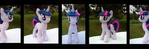 Twilight Sparkle Plush - Commission