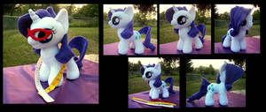 Rarity Filly with Accessories