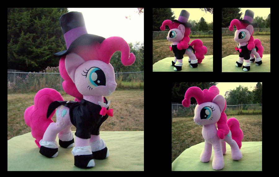 Tuxedo Pinkie Pie by fireflytwinkletoes