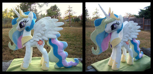 Princess Celestia by fireflytwinkletoes