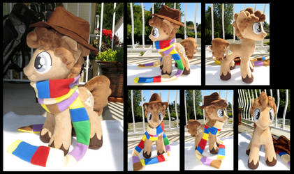 The 4th Doctor Whooves by fireflytwinkletoes