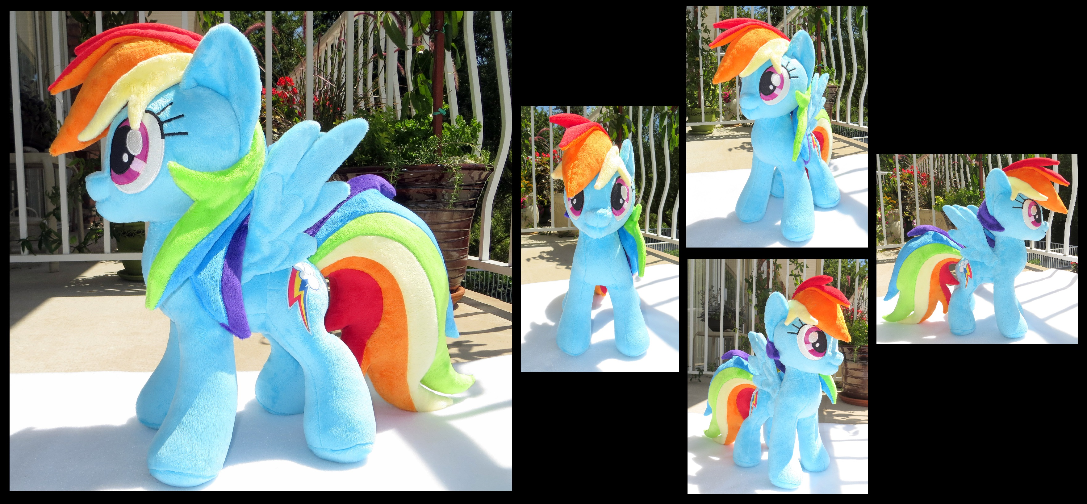 Rainbow Dashing by fireflytwinkletoes