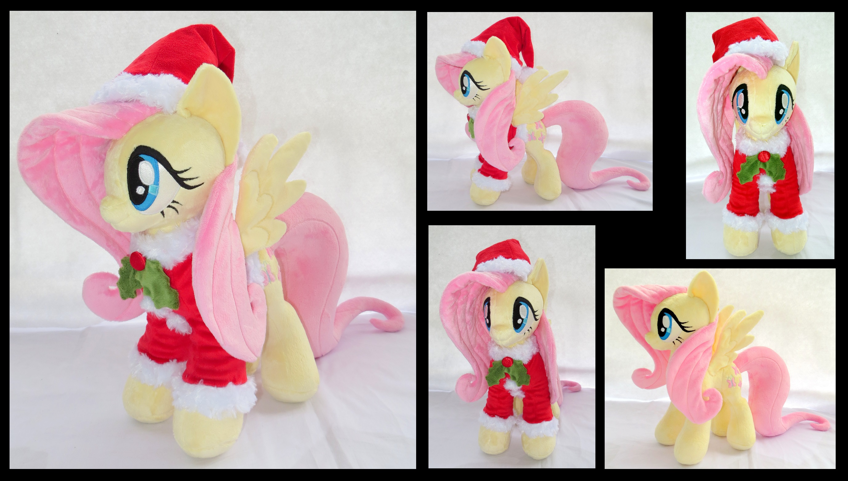 Fluttershy - Christmas in July by fireflytwinkletoes