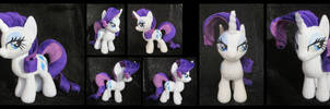 Rarity - New Mare Pattern! by fireflytwinkletoes