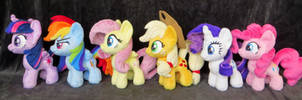 Mini Army Part 1 - Mane 6 by fireflytwinkletoes