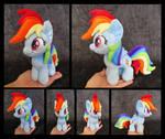 #003b - Rainbow Dash Mini