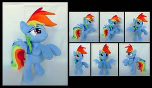 Rearing Rainbow by fireflytwinkletoes